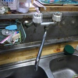 台所水栓の交換・・・千葉市