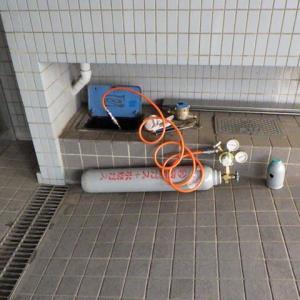マンションの共用栓の漏水調査・・・四街道市