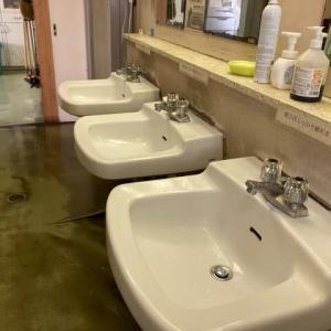 洗面器の2ハンドル混合水栓の交換・・・KVK