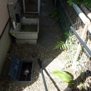 井戸から水道への切替工事・・・千葉市