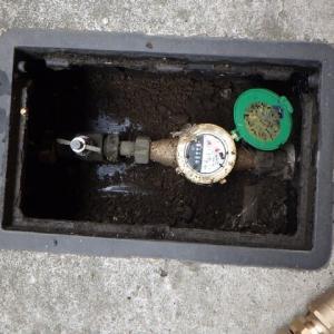 水道メーターの止水栓交換・・・千葉県企業局