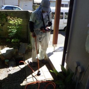トレーサガスを使って漏水調査・・・千葉市