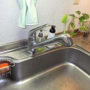 支給品の台所水栓の取り替え・・・千葉市