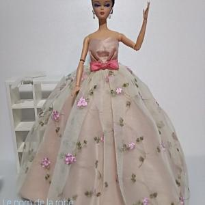 秋深くなる前にピンクのドレスを