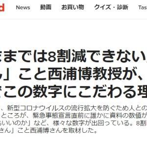【8割減】ソーシャル・ディスタンス