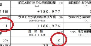1円損すると税金が2円還付される。