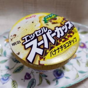 meiji 明治 エッセル スーパーカップ バナナチョコチップ アイス レビュー 毎日アイス生活