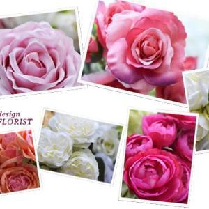 アーティフィシャルフラワーの薔薇