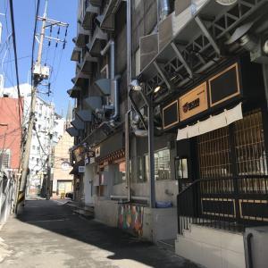 韓国23日目 新村で激安なトンカツ屋さん