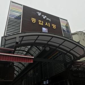 韓国20日目 京東市場へ