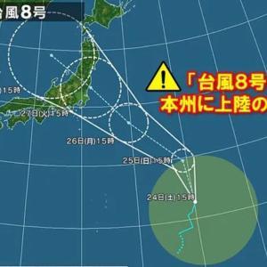[台風]俺の休日。