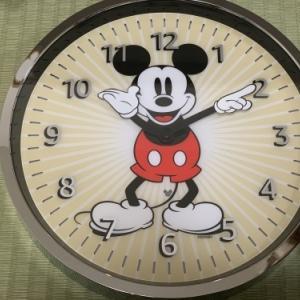 Alexa対応 ミッキー時計を買ってみました。