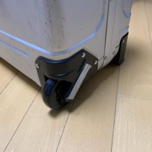スーツケースが壊れたけどクレカの海外旅行携行品損害補償でほぼノーダメージだった