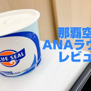 ブルーシールアイス美味しい!沖縄那覇空港&ANAラウンジに行ってきた!