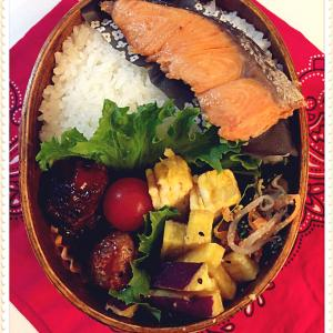 塩鮭のっけ弁当と毎日修行中。