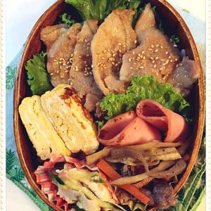 豚の生姜焼き弁当と、ほとほと嫌になる。。。