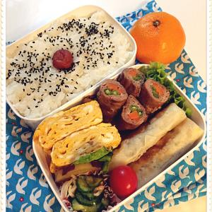 大葉ハムチーズ春巻き弁当と、無印さんの定番ニットに惚れたーー!