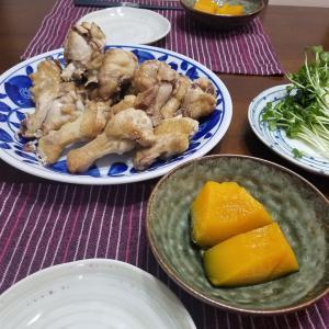 相方の作った夕飯