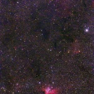ケフェウス座の星雲 NGC7380