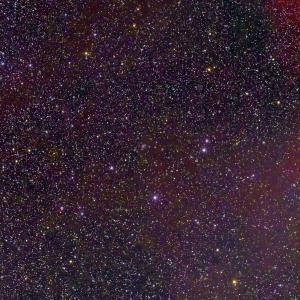 NGC2170付近~うさぎ座にかけての分子雲
