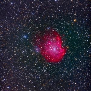天空の猿 NGC2174-5 モンキー星雲