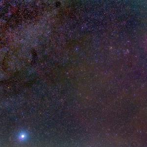 オリオン座からかもめ星雲まで