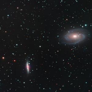M81 M82 おおぐま座の銀河