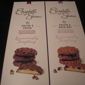Elizabeth Shawのビスケット&GODIVAのチョコレート!!