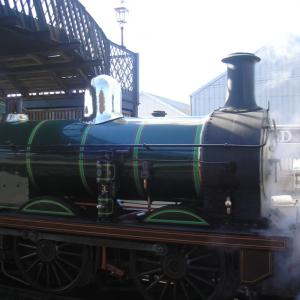 Young Gentlemanとデート、Bluebell Railwayへ機関車トーマス!?!?に会いに行って来た。。。