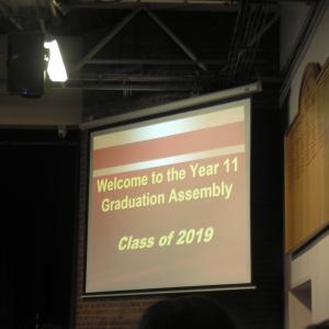 祝・卒業、「卒業式」なるものがあったぞぉー!!