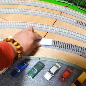 線路清掃 16番ゲージ鉄道模型
