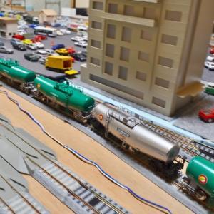 HOユニトラック 内周線の列車運転 (静止画)