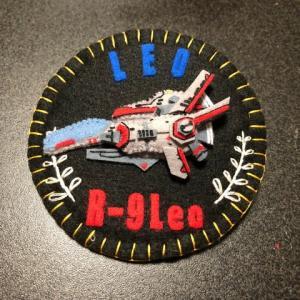 【R-TYPE】R-9LeoエンブレムバッヂVer.6作ってみた