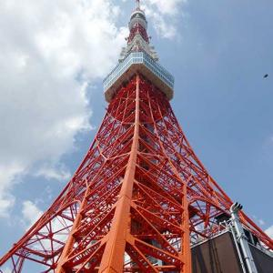 ダンスの舞台と東京タワー