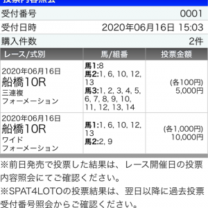 金沢→水沢→船橋→JRA