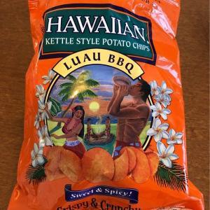 ハワイで見つけたら買ってみて!~「HAWAIIAN KETTLE STYLE POTATO CHIPS  Luau BBQ」