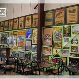 「グリーンワールドコーヒーファーム」~店内の展示物は全てオーナーのコレクション