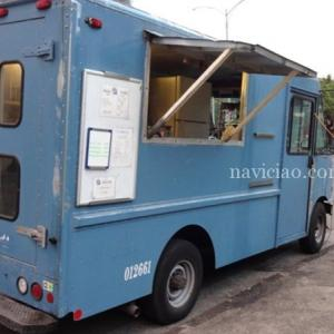 店舗を初オープン!~穴場的な「blue truck teppanyaki(ブルートラック鉄板)」