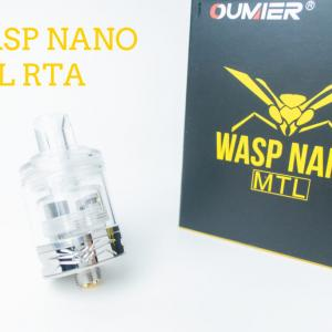 Oumier Wasp Nano MTL RTA レビュー