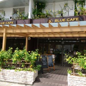 石垣島の「ブルーカフェ(BLUE CAFE)」で海を見ながらモーニング~サラダとコーヒー、パンを選べて500円