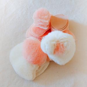 桜染めパンダさん 頭が縫えました