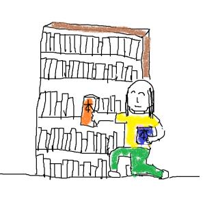 書斎の整理 読書の秋と溢れ出る本