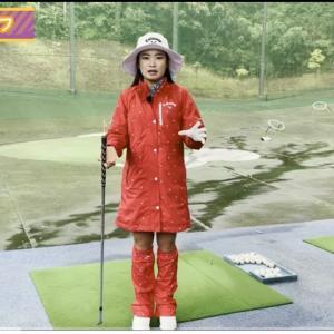 雨の日ゴルフ