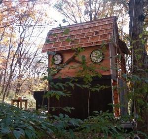 ある程度 カフェ小屋完成