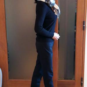体感+3℃の暖パン スーパーサーモの美脚パンツは楽チンで足長効果も!