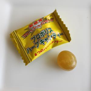 電車で咳をしたくない!マスクの下でハーブキャンディーを舐めています