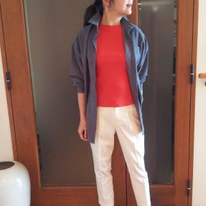 プチプラなのにシルクに似て優秀!ジャケットにもなるオーバーサイズシャツ