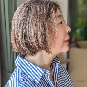 20年ぶりのショートヘアは中村アンさんの前下がりボブをリクエストしました