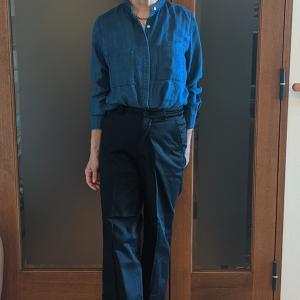 デニムシャツ&チノパンは老若男女・体型を問わないオールシーズンコーデ