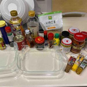 冷蔵庫のドアポケット収納の見直しとキッチンの調味料整理で衝撃的だったこと